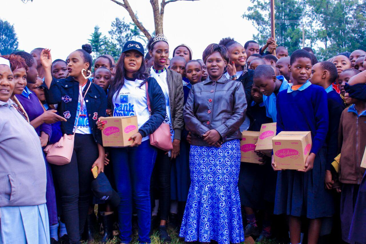<b>SANITARY BANK CAMPAIGN KWANZA TRANS NZOIA COUNTY</b><br> KING KAKA SANITARY BANK CAMPAIGN IN TRANS