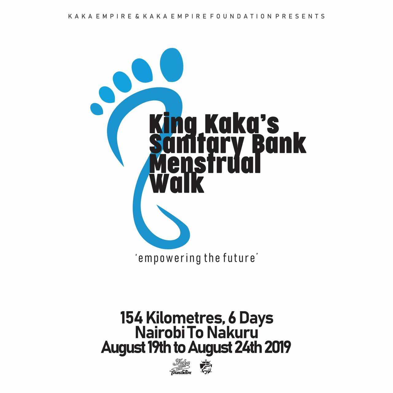 <b>MESTRUAL WALK</b><br> WALK TO KEEP 100,000 GIRLS IN SCHOOL